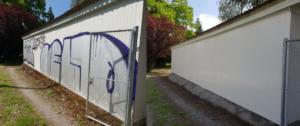 Nettoyage de graffitis et tags